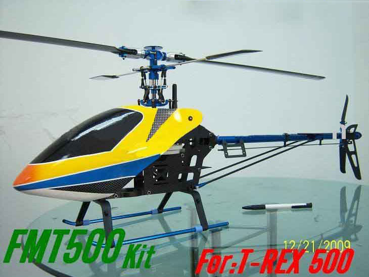 All Metal Carbon 500 RC Heli Helicopter Kit ARF Toy - US$199 00