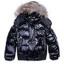 Children's Short Style Waterproof Windproof Down Feather Winter